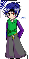 Gail the lil bandit by Lonina