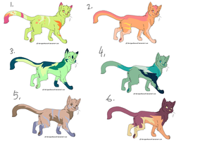 10 point Cat Adopts-OPEN by PillowRabbit