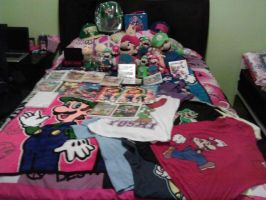MY Super Mario Stash! O.o by DaisyXLuigifan45