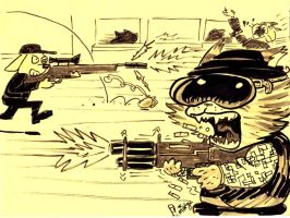 Black Ops Cat by mikey-c