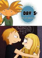 Hey Arnold Drawing Challenge 5 by Wolfs-Angel17