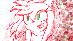 How I Draw Amy Rose by ShadowReaper12