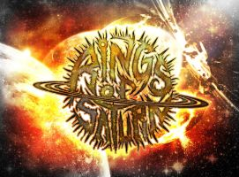 Rings of Saturn Planetary Collision by DanceWiththeDevil013