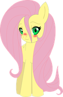 Fluttershy embarrassed by UP1TER