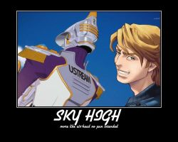 TIGER and BUNNY  Sky High by dusken-tears