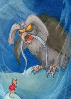 The Secret of NIMH Great Owl ATC by tursiart