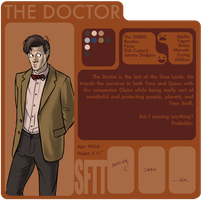 SftT: The 11th Doctor by Girl-on-the-Moon