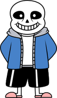 Sans Vector by StormDragon3