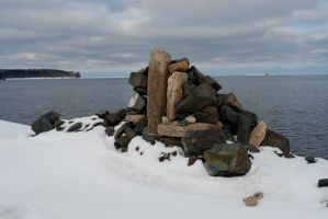Rock Cairn by archistock