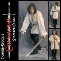 Crusader Pack: Standing Poses by Cobweb-stock