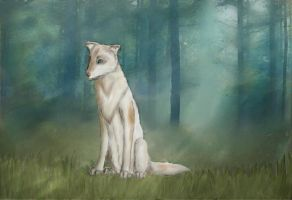 Wild Forest Wolf by Bengalensis