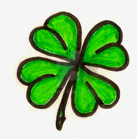Four Leaf Clover Tattoo by Metacharis
