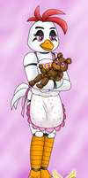 Hen Chica by LudiculousPegasus