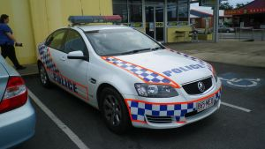 Queensland State Police Car by pfgun0