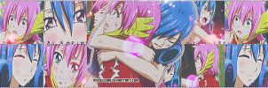 Juvia 'nd Meldy - Banner. by andyxchan