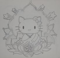 Hello Kitty-Budda by EveLWillow