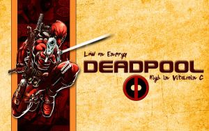 Tribute to Deadpool Wallpaper by Adder24
