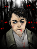 Castiel in Purgatory, animated by Sukautto