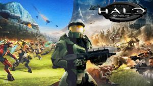 Halo Anniversary Old and New by blamoman