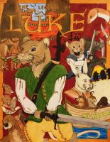 The Legend of Luke Colored by Redwall151
