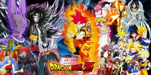 Dragon Ball Z Crossover 4 Battle of Gods by dbzandsm