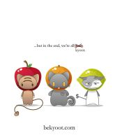 We're All Fruit by lafhaha