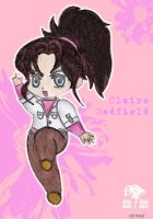 Claire Redfield chibi by Claire-Wesker1