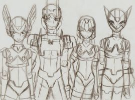 The Four by TheNakedKing