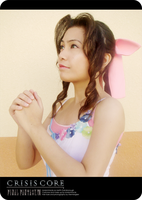 Crisis Core Aerith cosplay by lonelymiracle