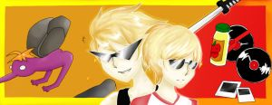 Dirk and Dave strider by pj8