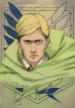 Commander Erwin Smith by Urationc