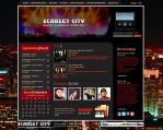 Scarlet City - Web Interface by romirockstar