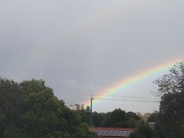 Rainbow outside by Roses-and-Feathers
