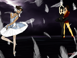 Zutara - Swan Lake by McXahn