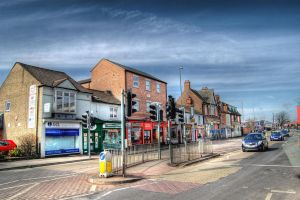 Town Traffic HDR by nat1874