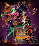 This is Halloween! Casta and Skelita make a scene! by mi-chie