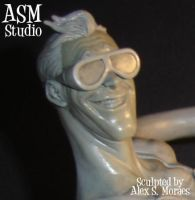 Plastic Man Mini Bust pic3 by ASM-studio