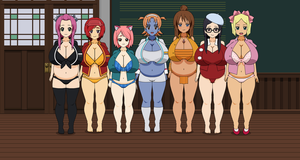 Sumo girls 3 by Zombie-Spartan
