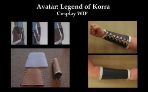 Legend of Korra WIP by ScissorWizardCosplay