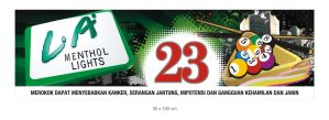 Banner Number Billyard Table by ignra