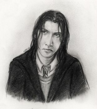Young Severus by LMRourke