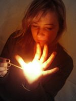 Playing with fire... by Jeanne-Mari