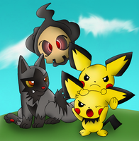 Cute Pokemon Colored by Quantum-Art