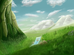 My first real painting thing by Blue-Strokes