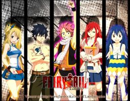 .:Fairy Tail Wallpaper:. by sasusaku027