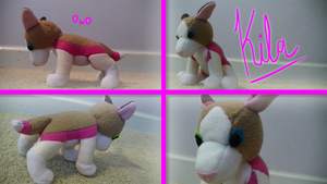 Plushie Commission: Kila by Ice-Artz