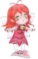 Art Trade_ Chibi Maria by SolemnWishMaster