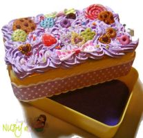 Yellow Cake Box by colourful-blossom