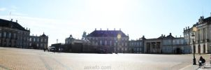 Panorama: Amalienborg by AskeFo