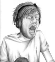 Pewdiepie Drawing by Chr-ali3